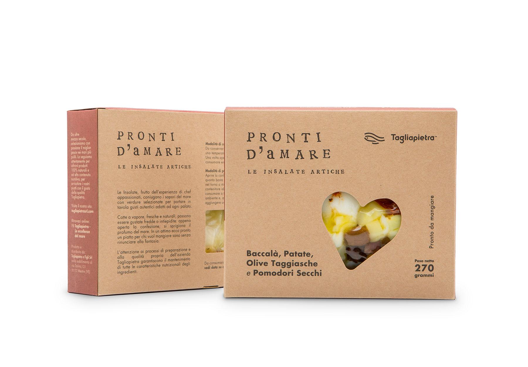 Realizzazione Pack Prodotto Alimentare Tagliapietra Dry Studio