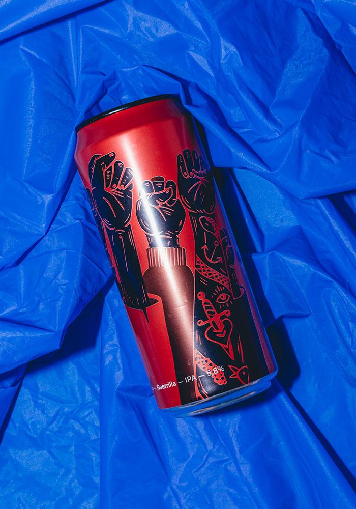 Guerrilla design Crak Brewery DryStudio