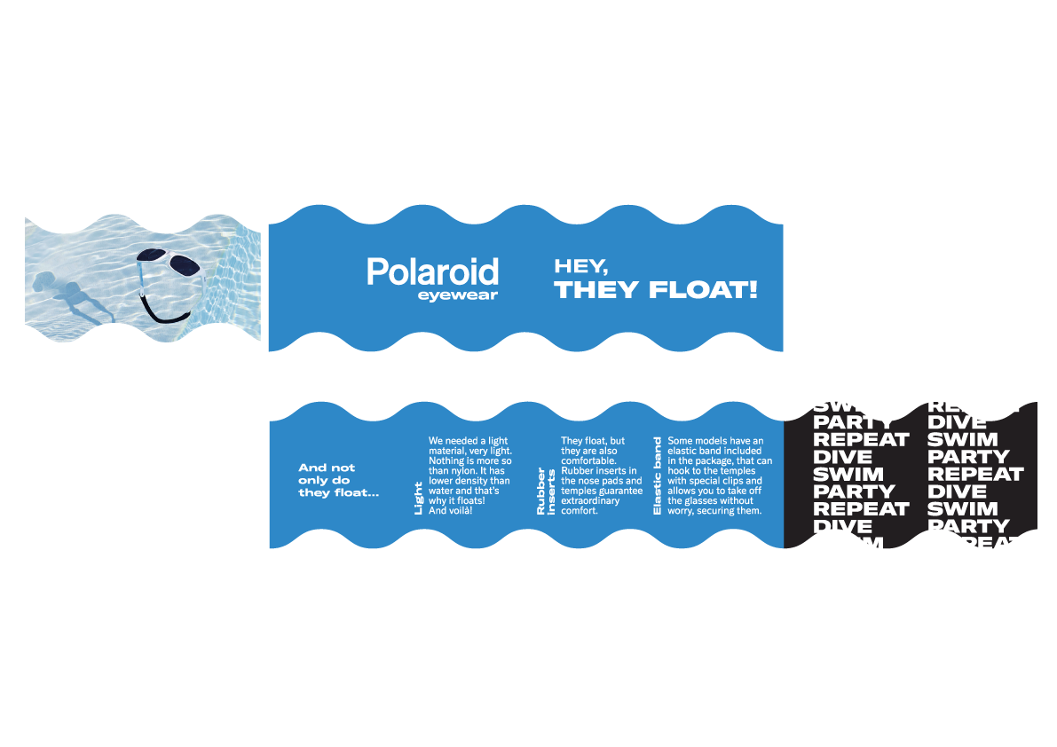 Campagna visual storytelling Polaroid Eyewear - Dry Studio