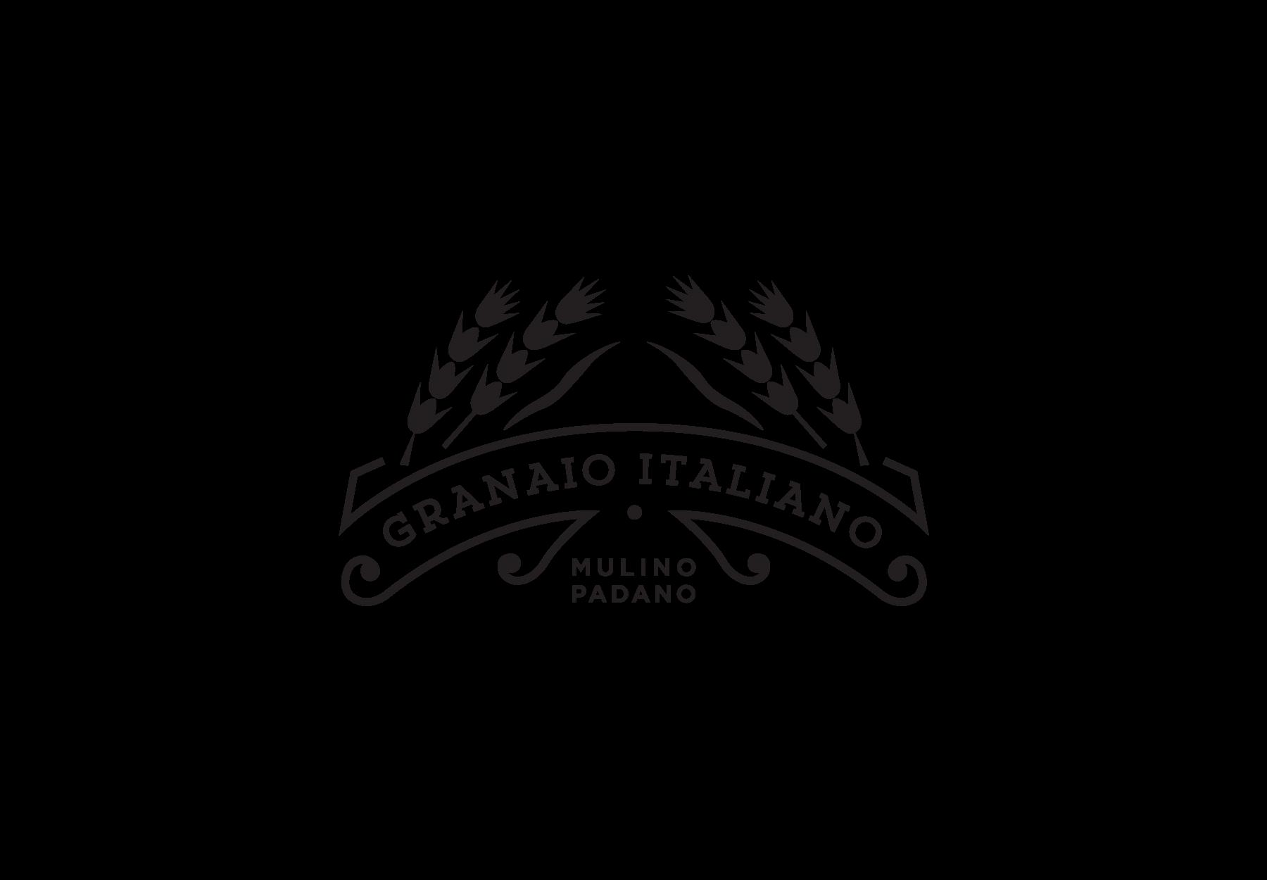Progettazione Logo Granaio Italiano - DryStudio
