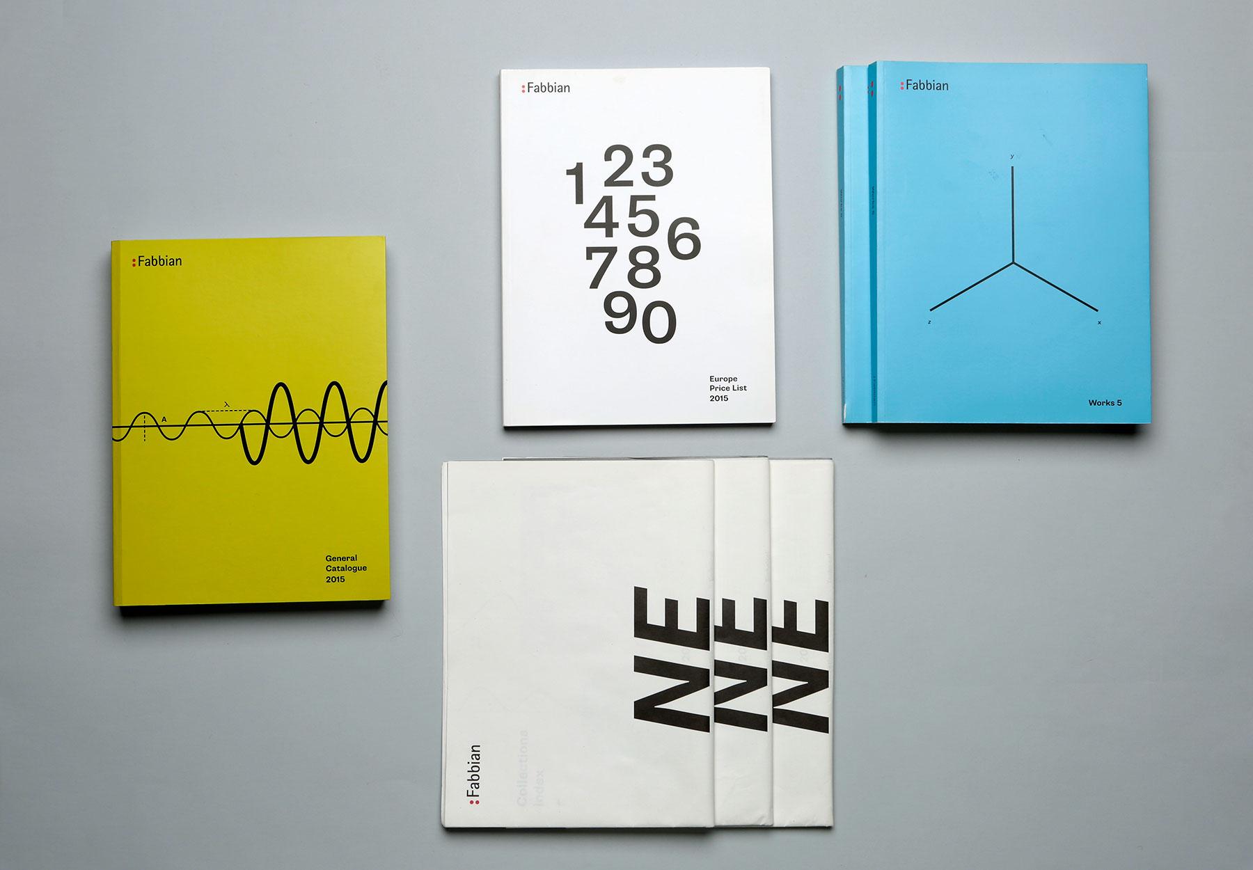 Progettazione e impaginazione Cataloghi Fabbian Illuminazione Dry-Studio