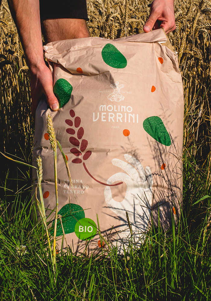 Projecto Packaging harina Molino Verrini