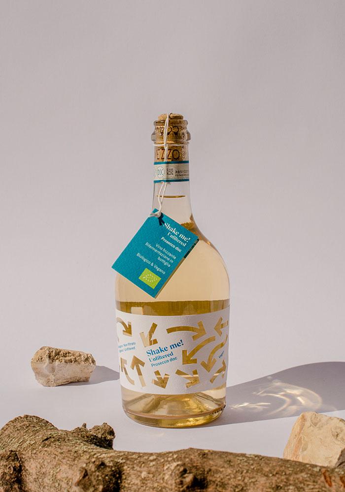 packaging bottiglia prosecco Corvezzo Dry studio