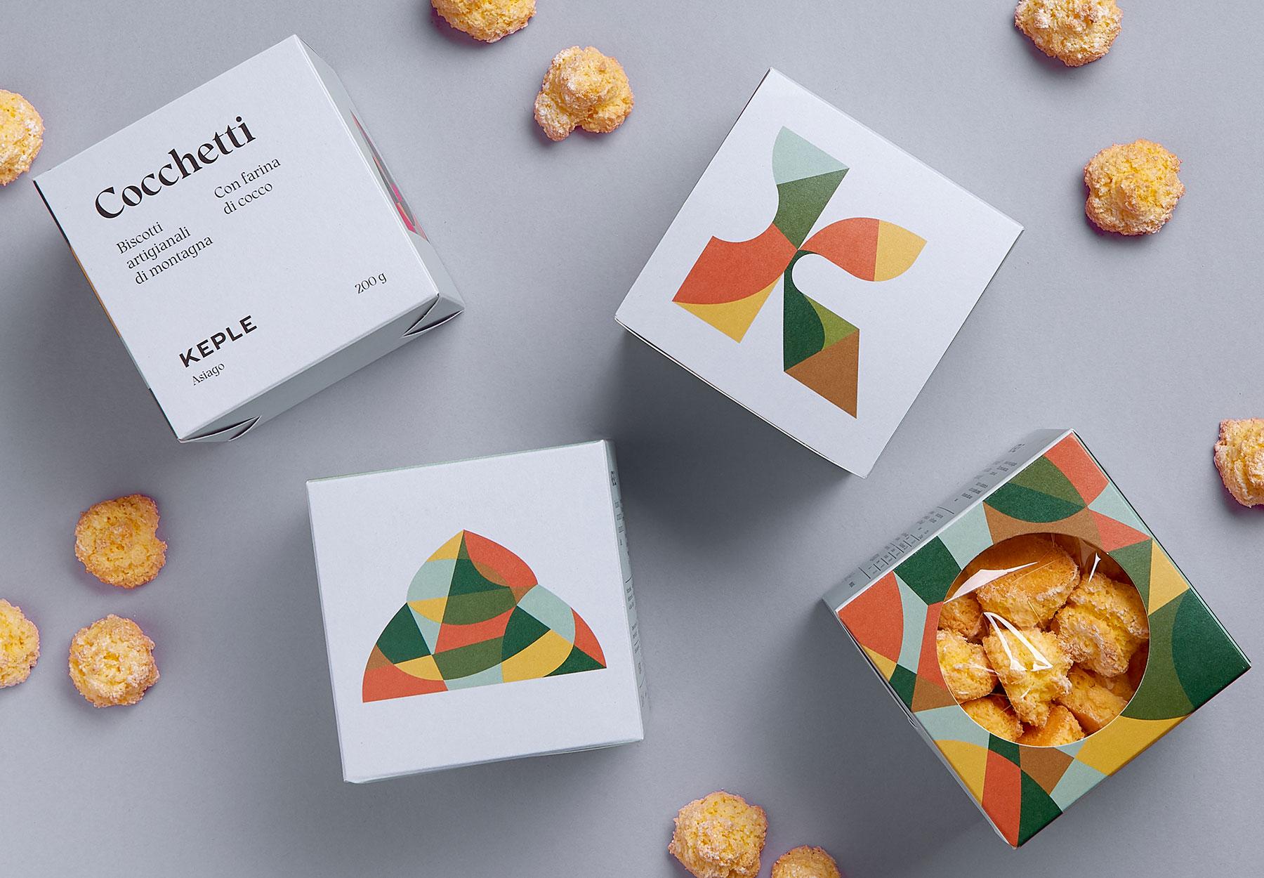 packaging design biscotti Keple Drystudio