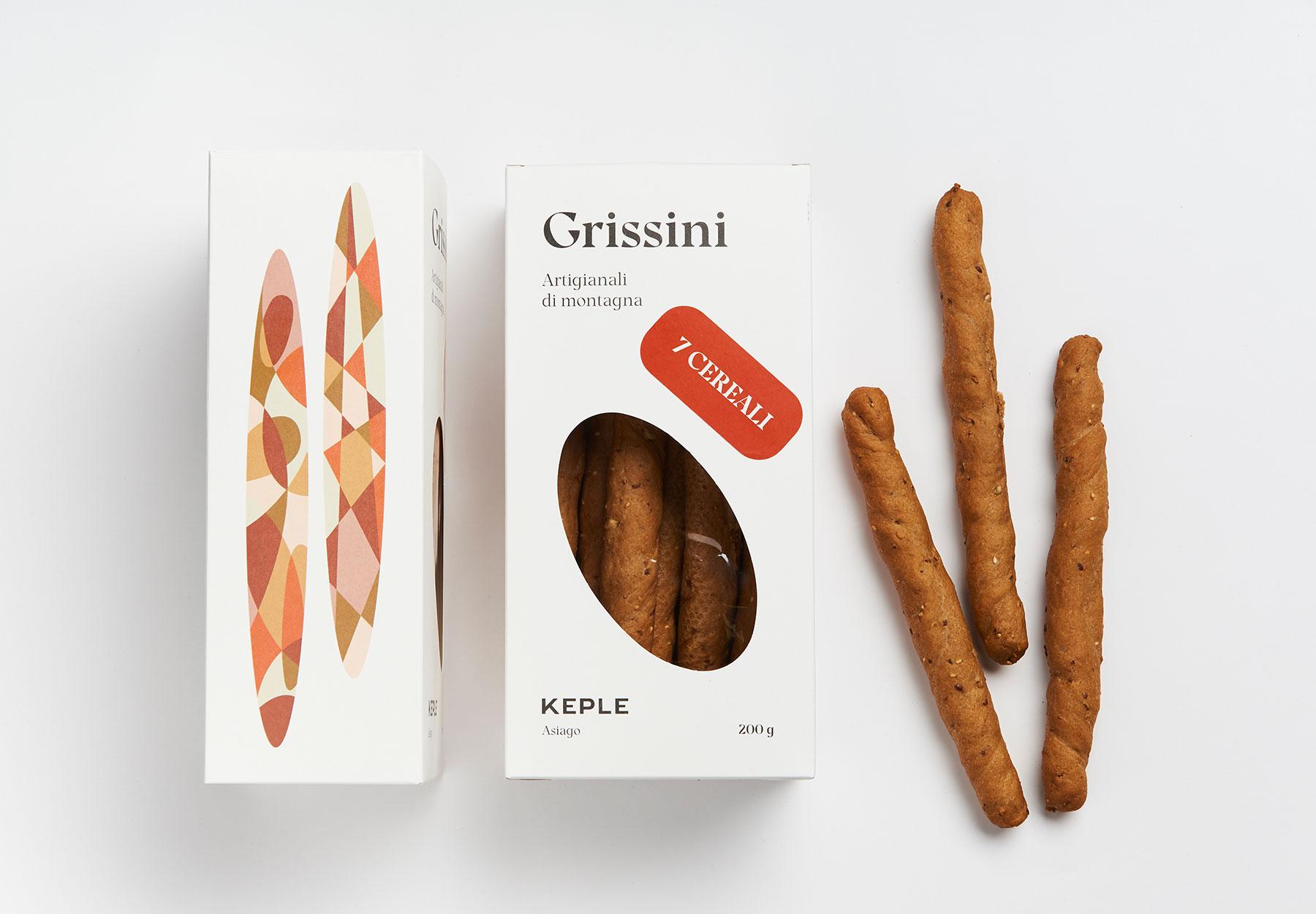 packaging design grissini Keple Drystudio